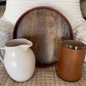 Leather Home Decor - Set